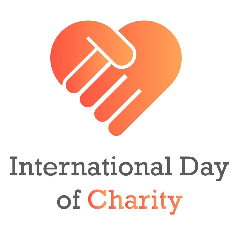 international day of charity 5 september uno logo