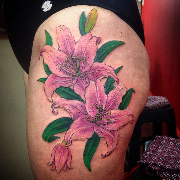 f2e1781a6015e 67+ Lily Tattoos Ideas With Meaning