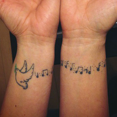 55+ Dove Tattoos On Wrist With Meaning