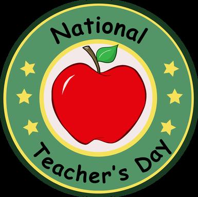 National Teacher's Day Logo