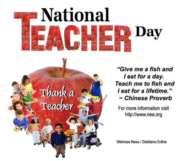 National Teacher's Day Thank A Teacher