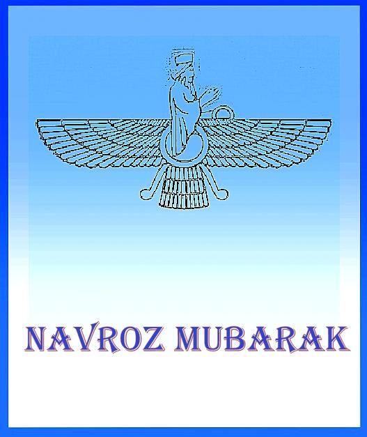 Navroz Mubarak Card