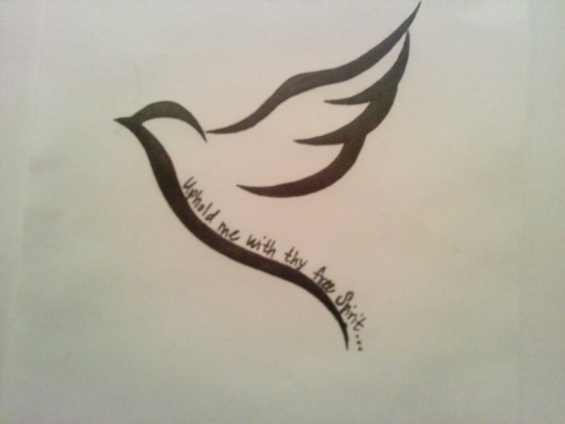 63 simple dove tattoos meaning and ideas. Black Bedroom Furniture Sets. Home Design Ideas
