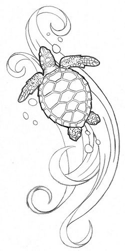 75 awesome sea turtle tattoos