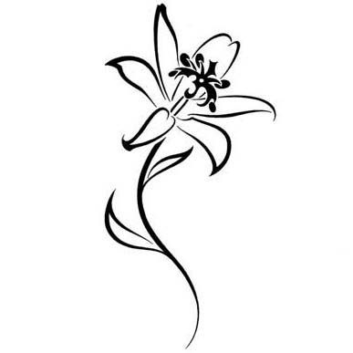 51 Small Lily Tattoos Ideas