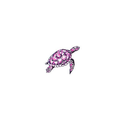 72 meaningful turtle tattoos ideas for Pink ink tattoo