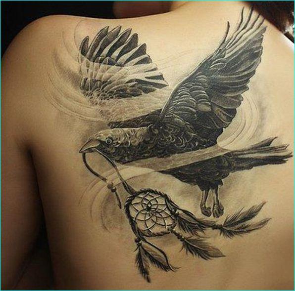 63 latest raven tattoos ideas. Black Bedroom Furniture Sets. Home Design Ideas