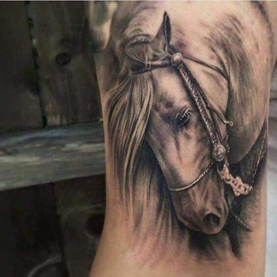0fd7d324bf5e9 50+ 3D Horse Tattoos Meanings And Ideas