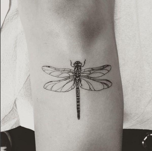 e8d3f5d9c 50+ Best Dragonfly Tattoos Ideas