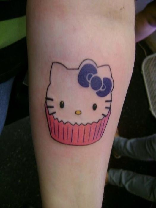 70 Simple Cupcake Tattoos Ideas