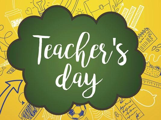 Teacher's Day Speech Bubble