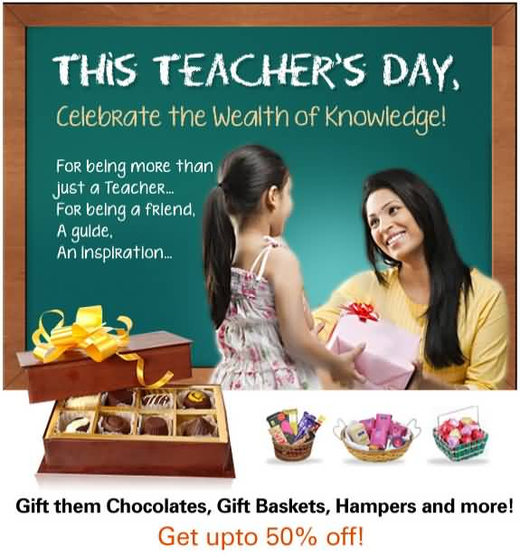 This Teacher's Day Celebrate The Wealth Of Knowledge