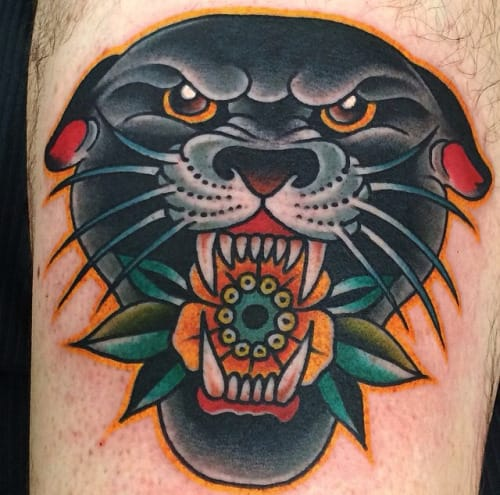 60 Panther Head Tattoos Ideas With Meanings