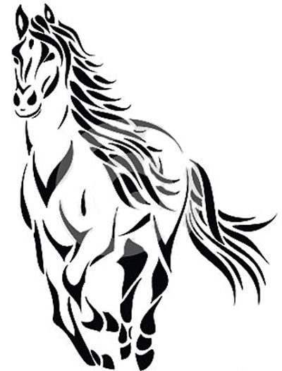 95e56c65daac0 78+ Horse Tattoos Meanings and Design Ideas