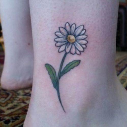 Daisy Tattoo Drawings: 61+ Small Daisy Tattoos Ideas With Meaning