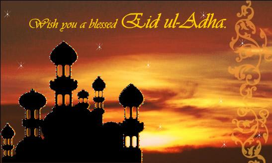 50 best ideas about eid al adha on askideas wish you a blessed eid al adha card m4hsunfo