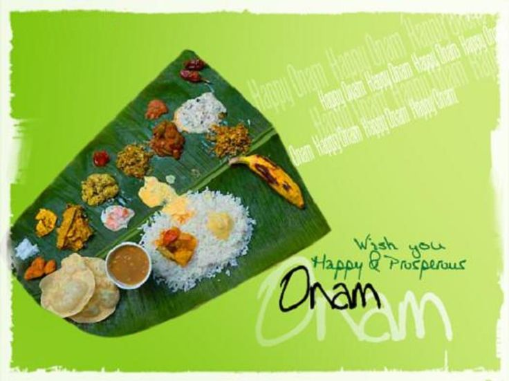Wish you happy and prosperous onam food for you m4hsunfo