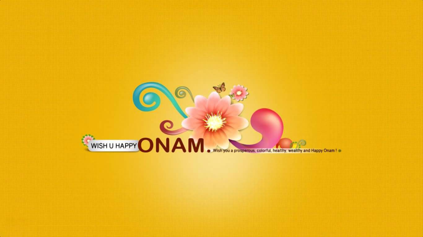 50 adorable onam 2017 wish pictures and images wish you happy onam beautiful greeting card kristyandbryce Image collections