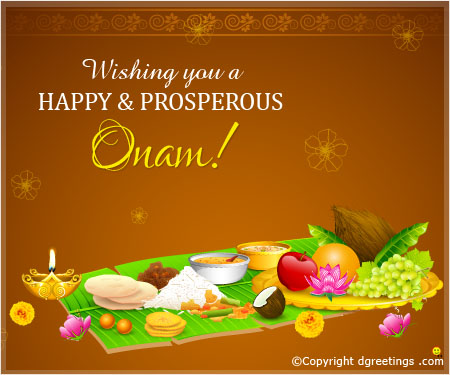 50 adorable onam 2017 wish pictures and images wishing you a happy prosperous onam greeting card m4hsunfo Gallery