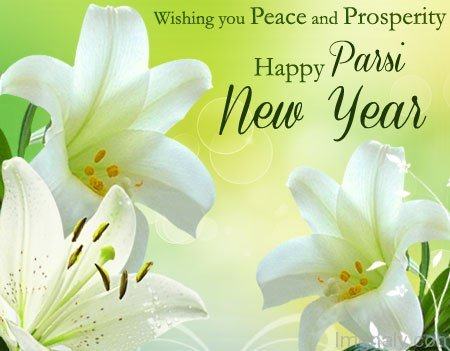 Wishing You Peace And Prosperity Happy Parsi New Year