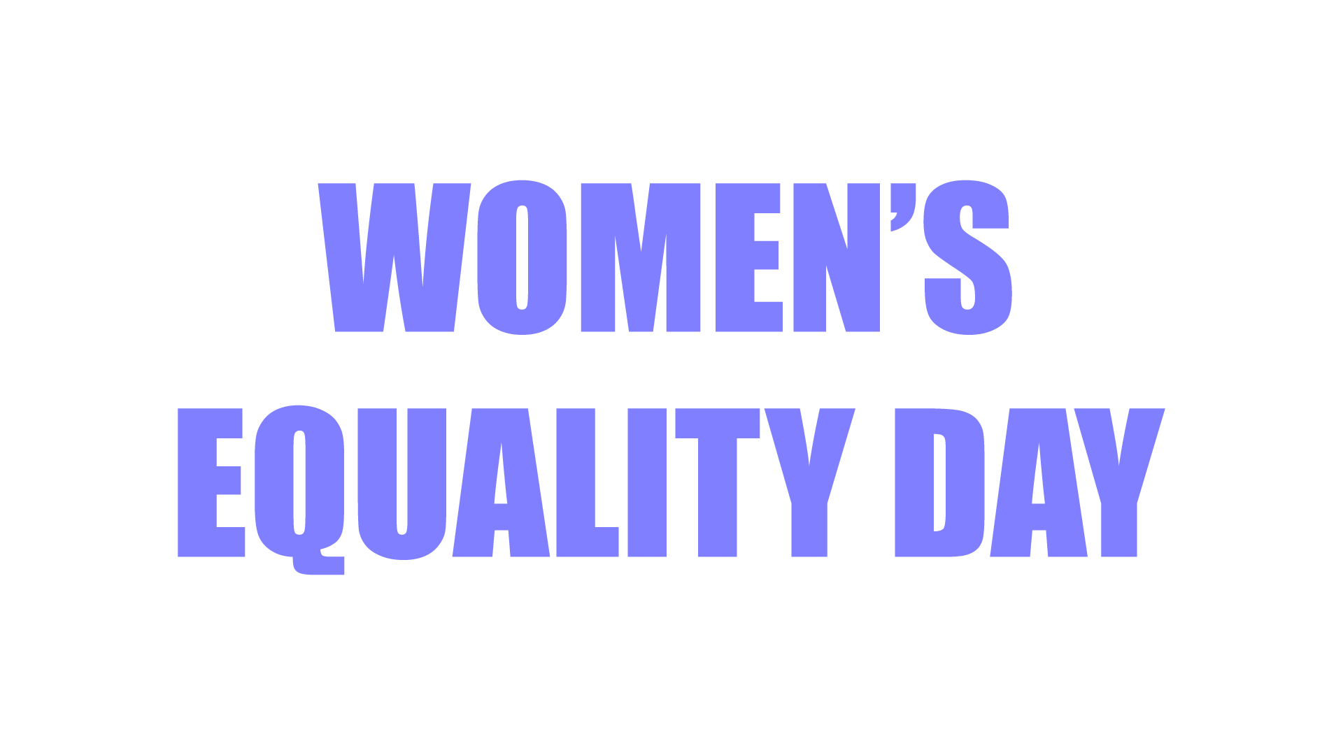 women equality Gender equality is a human right women are entitled to live with dignity and with freedom from want and from fear gender equality is also a precondition for.