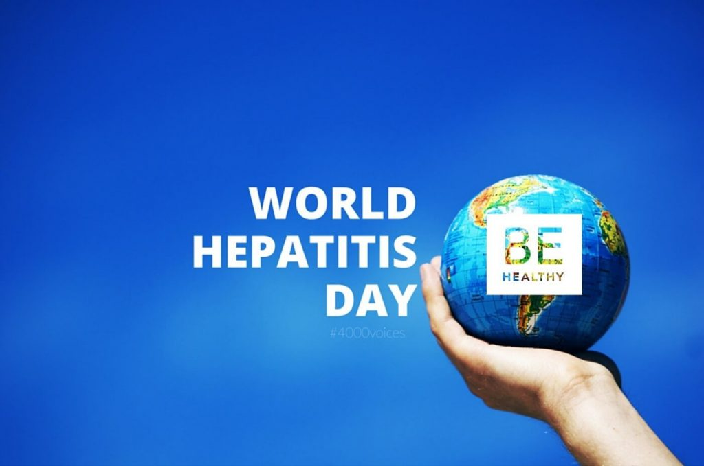 World Hepatitis Day Earth Globe In Hand