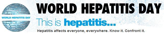World Hepatitis Day This Is Hepatitis Header Image