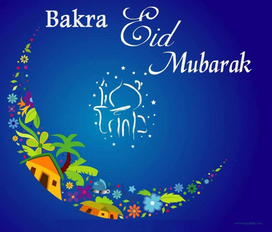 Bakra eid mubarak greeting card m4hsunfo