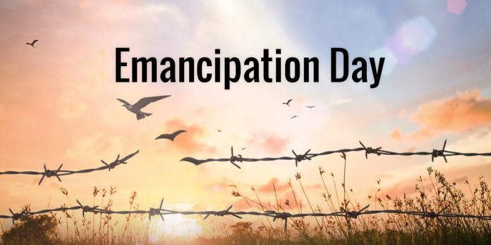 Emancipation Day Broken Chain