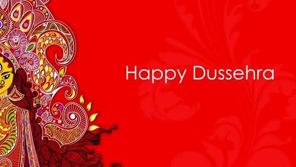 Happy dussehra 2017 greeting card m4hsunfo