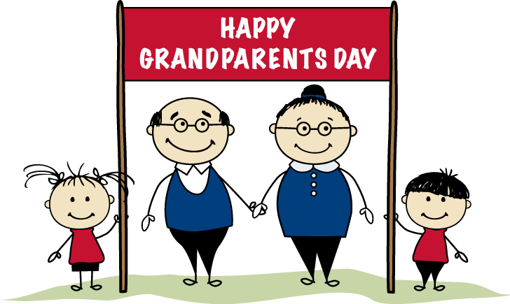 Image result for grandparents day clipart