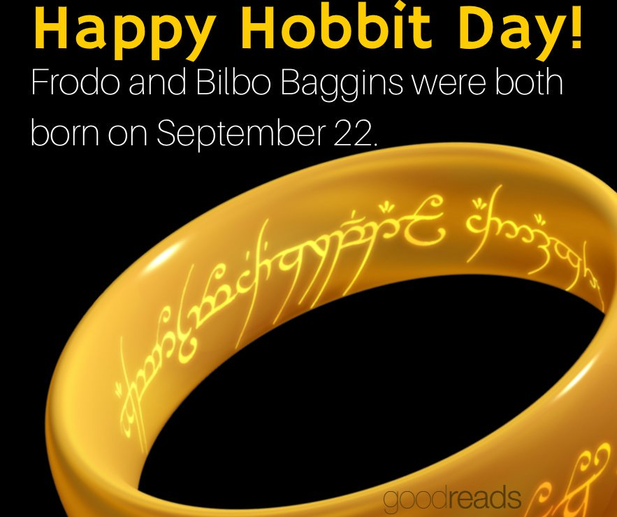 22nd September Hobbit Day Party