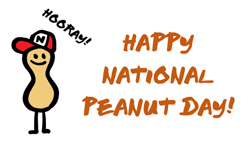 Happy National Peanut Day Peanut With Hat Picture