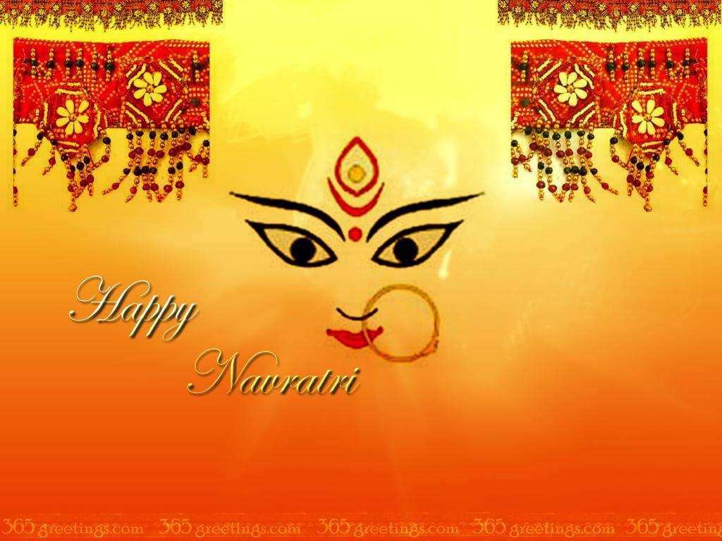 50 best navratri 2017 greeting ideas on askideas happy navratri durga face greeting card kristyandbryce Choice Image
