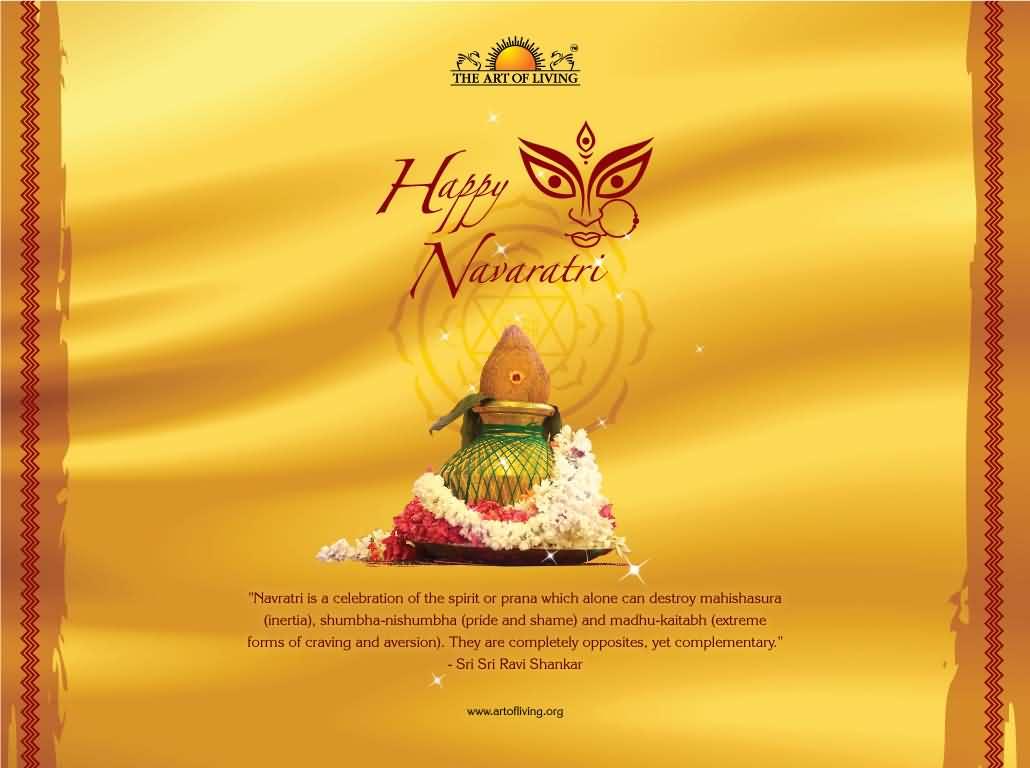 Happy navratri greetings image m4hsunfo Images