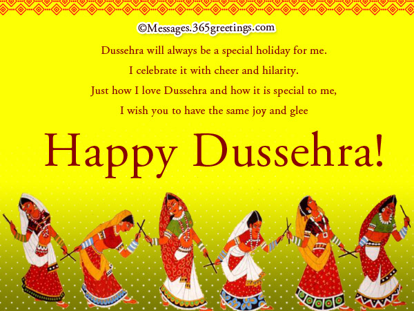 I wish you to have the same joy and glee happy dussehra greeting card m4hsunfo