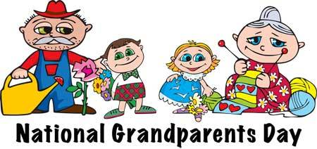National Grandparents Day Kids With Their Grandparents