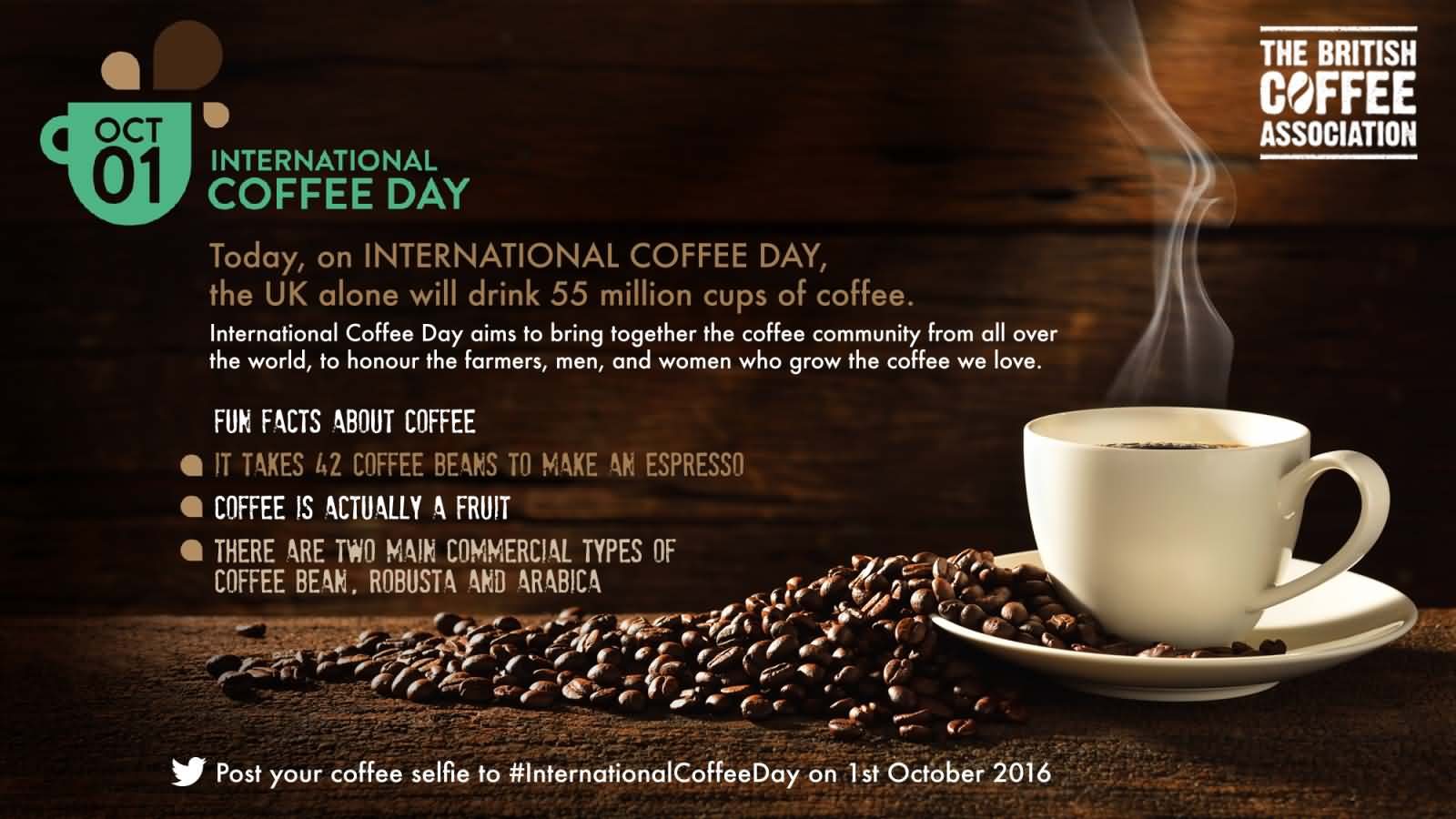 50 best international coffee day greeting images on askideas