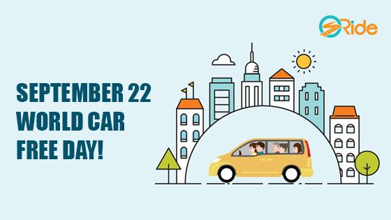 September 22 World Car Free Day