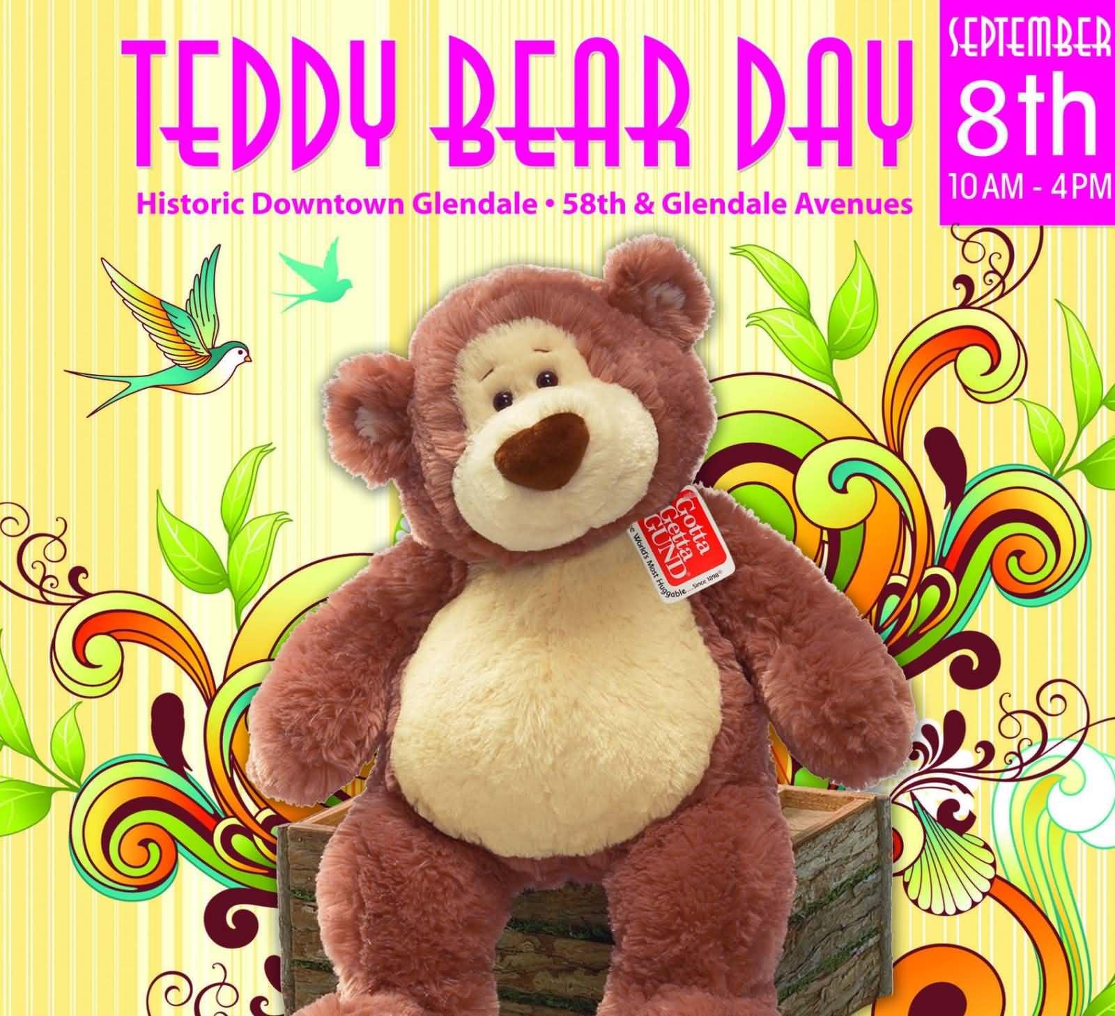 Teddy Bear Day September 8th