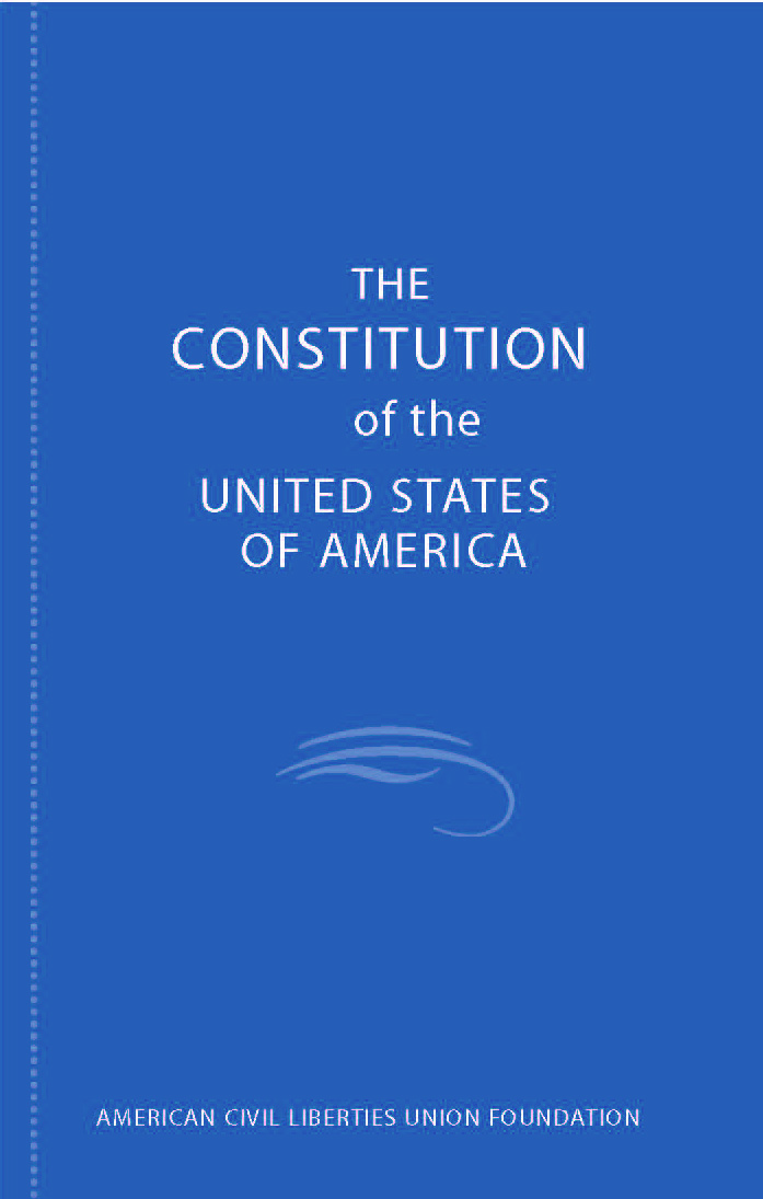 the constitution of the united states of america Constitution for the united states of america article i section 1 all legislative powers herein granted shall be vested in a congress of the united states, which .