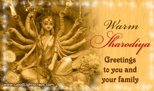 57 best durga puja wishes ideas on askideas warm sharodiya greetings to you and your family m4hsunfo