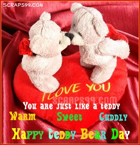 55 amazing teddy bear day 2017 greetings ideas on askideas you are just like a teddy warm sweet cuddly happy teddy bear day m4hsunfo