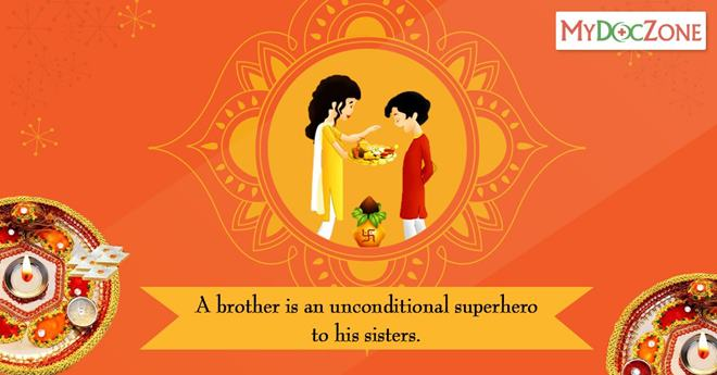 Bhai dooj celebrates the loving bond of love shared between siblings a brother is an unconditional superhero to his sisters happy bhai dooj m4hsunfo