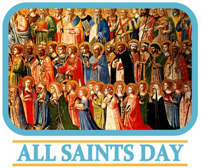 All Saints Day 2017 Card