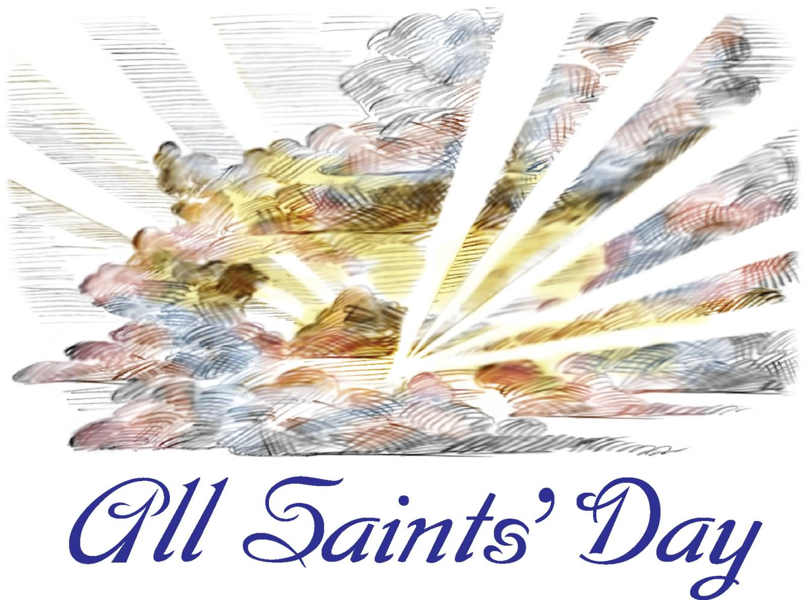 All Saints Day 2017 Wishes Picture