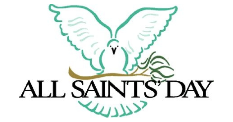 All Saints Day Dove Sitting On Olive Branch Clipart