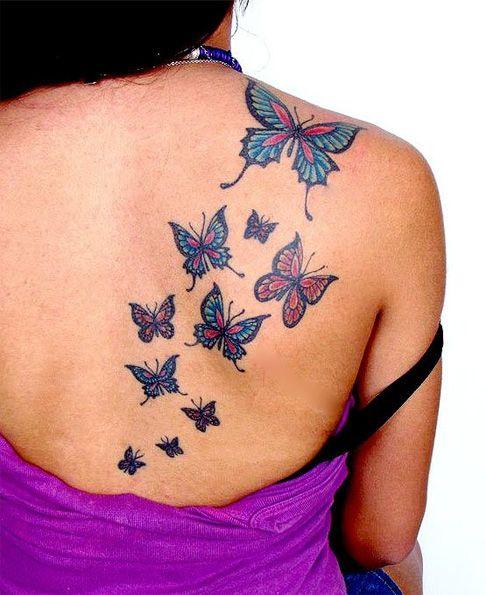50 best butterfly tattoo design ideas. Black Bedroom Furniture Sets. Home Design Ideas