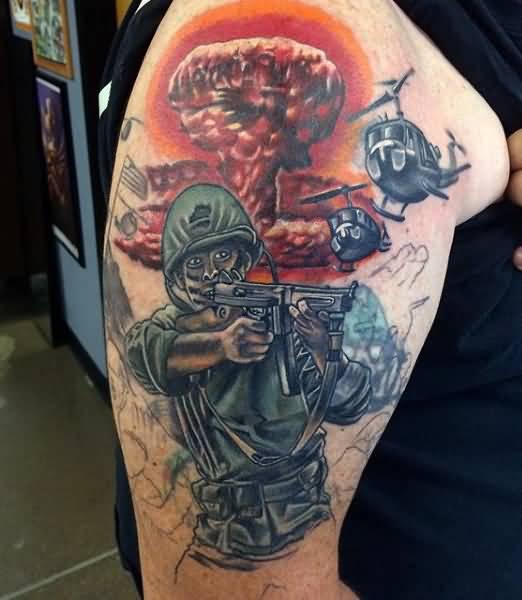 50 Best Military Tattoo Design Ideas
