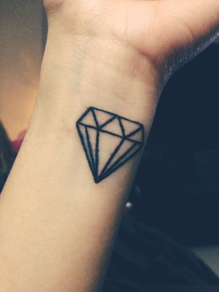 60 best diamond tattoo design ideas with meaning